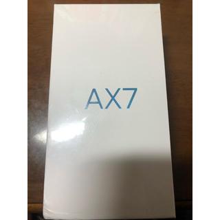 アンドロイド(ANDROID)のOPPO AX7(スマートフォン本体)