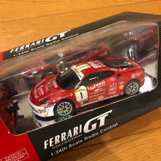 フェラーリ(Ferrari)のフェラーリ f430 チャレンジ ラジコン 1/24(ホビーラジコン)