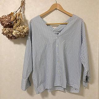 アパートバイローリーズ(apart by lowrys)の【apart by lowlys】Stripe blouse(シャツ/ブラウス(長袖/七分))