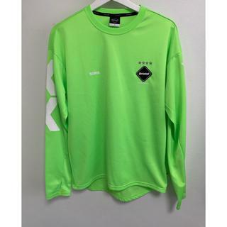 エフシーアールビー(F.C.R.B.)のFCRB ユニフォーム ロンT グリーン s(Tシャツ/カットソー(七分/長袖))