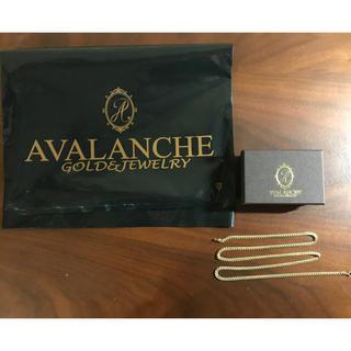 アヴァランチ(AVALANCHE)のGW割 マイアミ イエローゴールド ネックレス(ネックレス)
