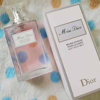 クリスチャンディオール(Christian Dior)のミスディオール シルキー ボディミスト 100ml 5割程度  ■出品理由■ コ(その他)