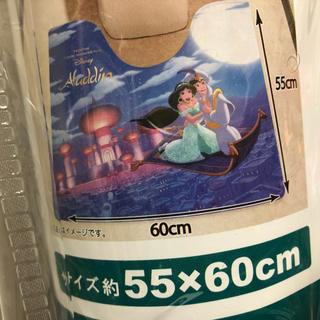ディズニー(Disney)のアラジン  拭けるトイレマット【新品未使用】(トイレマット)