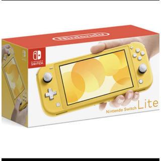ニンテンドースイッチ(Nintendo Switch)のニンテンドー スイッチ ライトイエロー nintendo switch lite(家庭用ゲーム機本体)