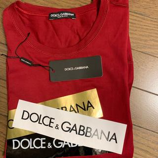 ドルチェアンドガッバーナ(DOLCE&GABBANA)のDOLCE&GABBANA ドルチェ&ガッバーナ テープ Tシャツ(Tシャツ/カットソー(半袖/袖なし))