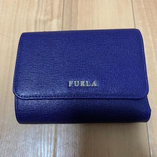 フルラ(Furla)のFURLA ネイビー ミニ財布 最終お値下げセール(折り財布)
