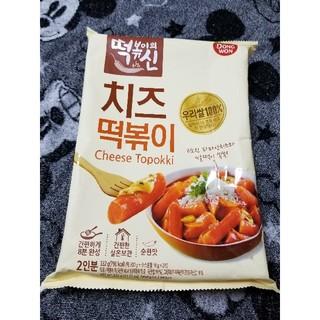 韓国 DONG WON チーズトッポギ チーズトッポッキ 韓国食品(米/穀物)