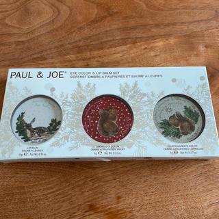 ポールアンドジョー(PAUL & JOE)の【シロ様専用】PAUL&JOE コフレ セット クリスマス ポールアンドジョー(コフレ/メイクアップセット)
