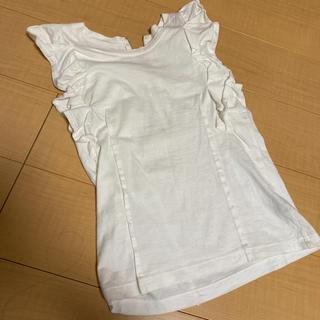 ミュベールワーク(MUVEIL WORK)のミュベール Tシャツ フリル(Tシャツ(半袖/袖なし))