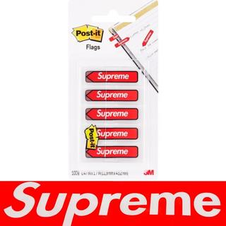 シュプリーム(Supreme)のSupreme Post-it Flags 付箋紙 ポストイット 新品(ノート/メモ帳/ふせん)
