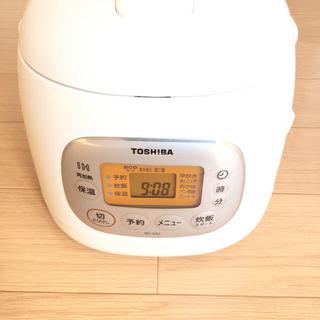 東芝 - 東芝 厚釜 IH炊飯器 コンパクト3合炊