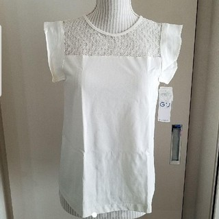 ジーユー(GU)のGU レディーストップス カットソー(Tシャツ(半袖/袖なし))