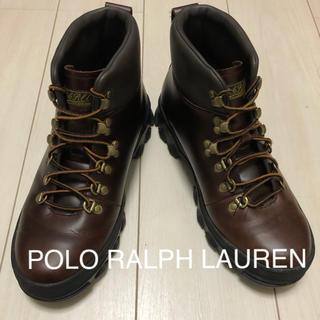ポロラルフローレン(POLO RALPH LAUREN)の【美品】ラルフローレン マウンテンブーツ HAINSWORTH 10D(ブーツ)