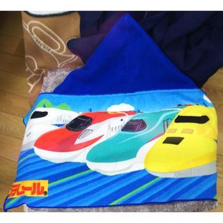 タカラトミー(Takara Tomy)のプラレール フード付きタオル(タオル/バス用品)