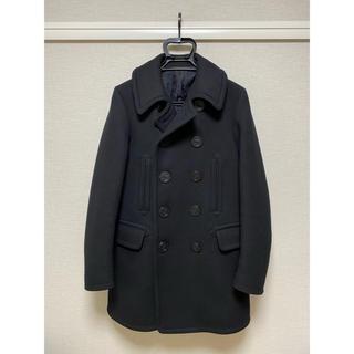【カエデ様専用】ラグスマックレガー 14AW 10ボタン Pコート M ブラック(ピーコート)