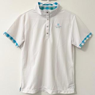 クレージュ(Courreges)のクレージュ Courreges ゴルフウェア レディース 半袖 ポロシャツ(ウェア)
