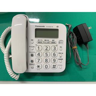 パナソニック(Panasonic)のパナソニック 電話機 VE-GD24-W 本体のみ(その他)
