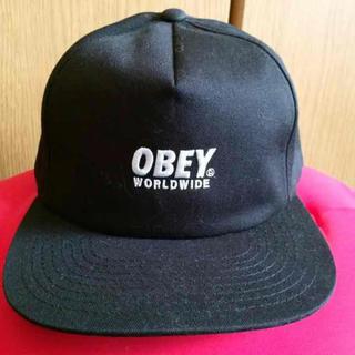 オベイ(OBEY)のobey snapback cap(キャップ)