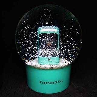 ティファニー(Tiffany & Co.)の★超レア!非売品【Tiffany&Co スノードーム】ティファニー 指輪 ギフト(置物)