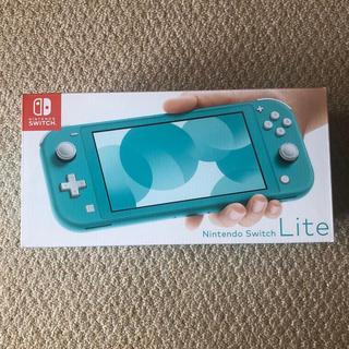 ニンテンドースイッチ(Nintendo Switch)のNINTENDO Switch lite ターコイズ 新品 未開封 未使用 本体(家庭用ゲーム機本体)
