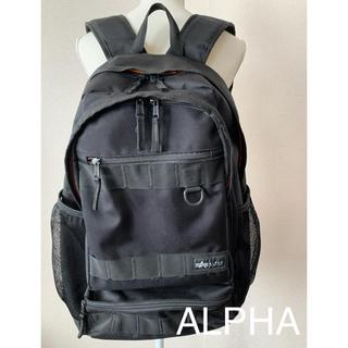 アルファ(alpha)のALPHA リュック バックパック ブラック(リュック/バックパック)
