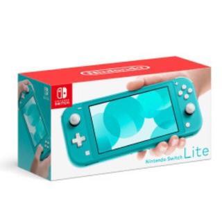 送料込み Nintendo Switch Lite ターコイズ(家庭用ゲーム機本体)
