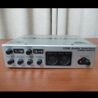 M-AUDIO QUATTRO MIDI/AUDIO IF 使用感あり(MIDIコントローラー)