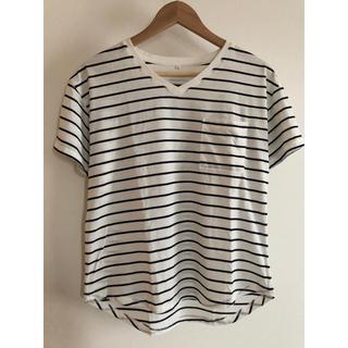レディース ボーダー Tシャツ(Tシャツ(半袖/袖なし))
