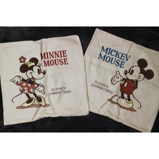 ディズニー(Disney)の* Mickey & Minnie クッションカバー *(クッションカバー)