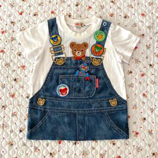 ミキハウス(mikihouse)のミキハウス だまし絵Tシャツ 80(Tシャツ)