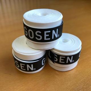 ゴーセン(GOSEN)のGOSEN グリップテープ3個(テニス)