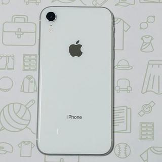 アイフォーン(iPhone)の【B】iPhoneXR/128/SIMフリー(スマートフォン本体)