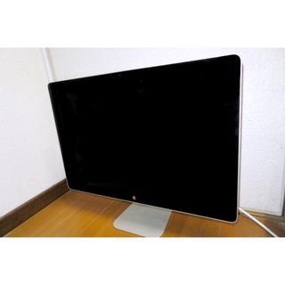 マック(Mac (Apple))の【ジャンク】LED Cinema Display 24インチ(ディスプレイ)