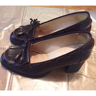 ジェーンマープル(JaneMarple)のJane Marple★タッセルローファーパンプス(S~M23cm~23.5cm(ローファー/革靴)
