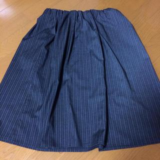 ミスティウーマン(mysty woman)の膝丈スカート♡グレー(ひざ丈スカート)