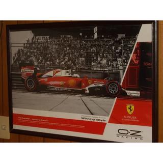 フェラーリ(Ferrari)のOZホイール/フェラーリ2016 オリジナルポスター 非売品(その他)