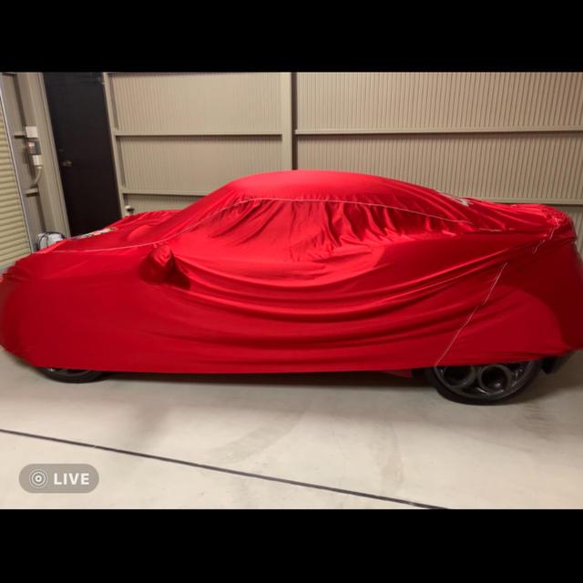 Alfa Romeo(アルファロメオ)のアルファロメオ4C インナーソフトカバー 自動車/バイクの自動車(車外アクセサリ)の商品写真