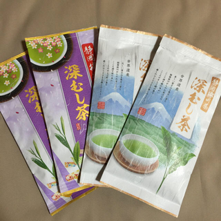 送料込⭐️5400円 各2本 深蒸し茶 (茶)