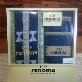 レノマ(RENOMA)のrenoma レノマ フェイス、ウォッシュタオルセット(タオル/バス用品)