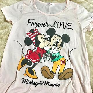 ミッキー&ミニー Tシャツ(Tシャツ(半袖/袖なし))