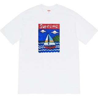 シュプリーム(Supreme)のSupreme Sailboat Tee シュプリーム セイルボート Tシャツ(Tシャツ/カットソー(半袖/袖なし))