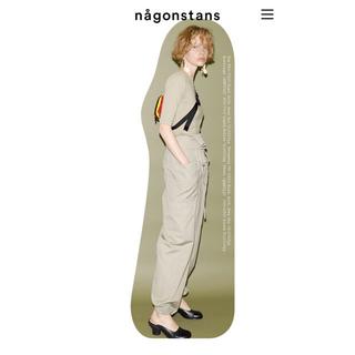 エンフォルド(ENFOLD)の2019 ナゴンスタンス nagonstans カーゴパンツ(ワークパンツ/カーゴパンツ)