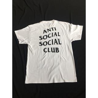 アンチ(ANTI)のANTI SOCIAL SOCIAL CLUBTシャツ tee 白 半袖 M(Tシャツ/カットソー(半袖/袖なし))