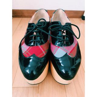 ヴィヴィアンウエストウッド(Vivienne Westwood)のVWコレクター必須※ロッキンホース ワールズエンド限定 NY購入品(ローファー/革靴)
