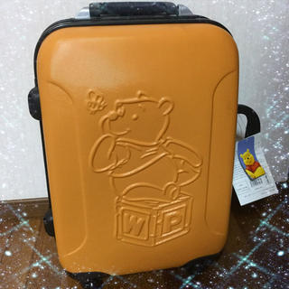 ディズニー(Disney)のプーさん スーツケース ディズニー(スーツケース/キャリーバッグ)