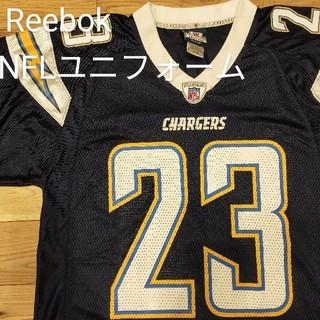 リーボック(Reebok)のReebok NFL ユニフォームchargers Sサイズ 23 jammer(アメリカンフットボール)