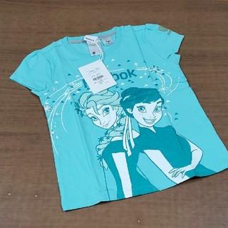 リーボック(Reebok)の新品☆Reebok☆リーボック☆キッズ☆Tシャツ☆ディズニー☆アナ雪☆120cm(Tシャツ/カットソー)