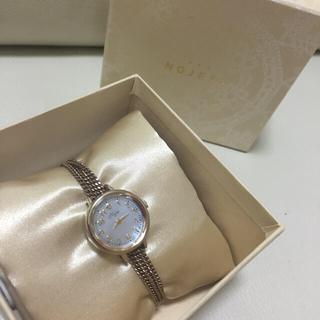 ノジェス(NOJESS)の美品♡新作ソーラー電池腕時計セット(腕時計)