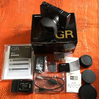 リコー(RICOH)のRICOH GR II 美品 防湿庫保管(コンパクトデジタルカメラ)