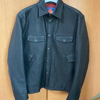 アンダーカバー(UNDERCOVER)のブラックミーンズ blackmeans レザージャケット (レザージャケット)